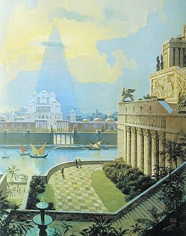 chasingthegreenfaerie:  The Hanging Gardens of Babylon by Wonders _ on Flickr.