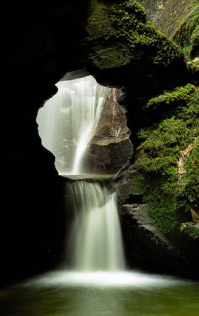 St Nectan's Glen Waterfalls, Cornwall, UK | A magical, mystical and sacred place (2 of 10) by ukgardenphotos on Flickr.