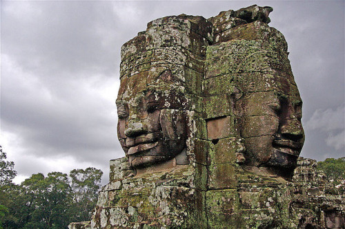 chasingthegreenfaerie:  The radiant power of the God-King (Angkor, Cambodia) by jmhullot on Flickr.
