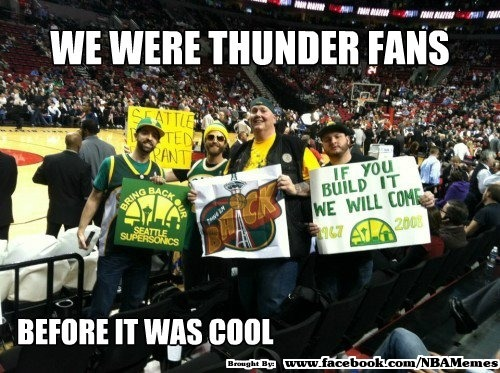 Who remembers the SONICS?