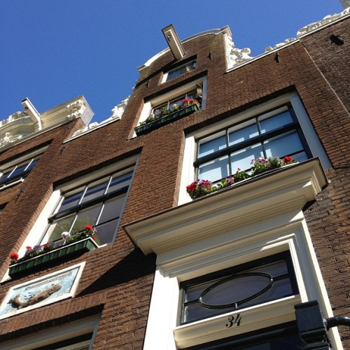 randomitus:  Always look up (Taken with Instagram at Bloemgracht)