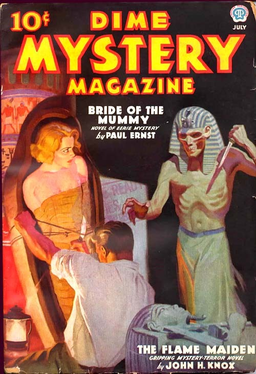 sleepymolly:  Dime Mystery Magazine.  From here