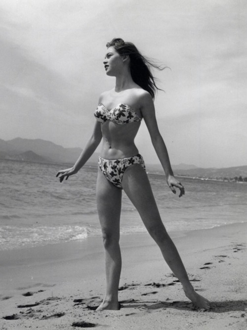 Just Swim 3: Brigitte Bardot at the 1953 Cannes Film Festival