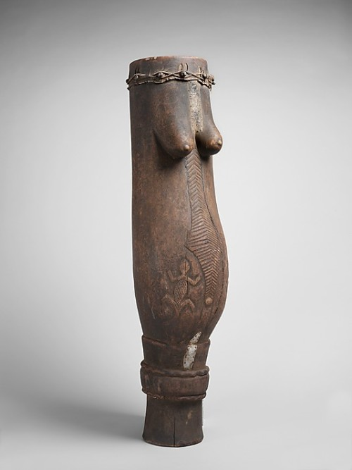 Drum Luba, early 20th century The Metropolitan Museum of Art