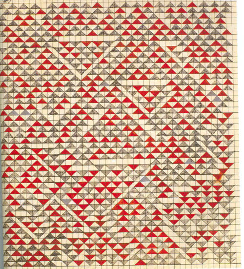 Anni Albers (1899-1994), Study for Camino Real, 1967