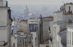 lifeonsundays:  10 pigeons and chimneys - Paris  | by © Thierry Duval | via ysvoice