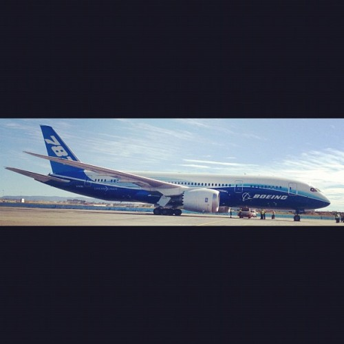 787 #DreamTour in BNE. Hello my love, we finally meet. <3 (Taken with Instagram at Lomandra Drive)