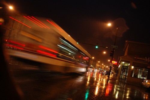 Rainy night… by -Tripp- on Flickr.