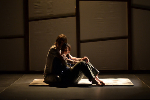 "Here's a photo from the production of ""Two Rooms"" I lit a few weeks ago! I don't think I've ever posted pictures of my work. The show I'm working on now will have much more exciting production photos. Trust me."