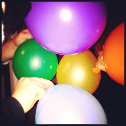 Like being 16 again! I MISS JORDYS 🎈🎈 (Taken with instagram)