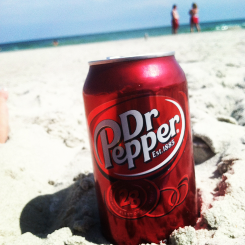Looks like a dr pepper ad. :P