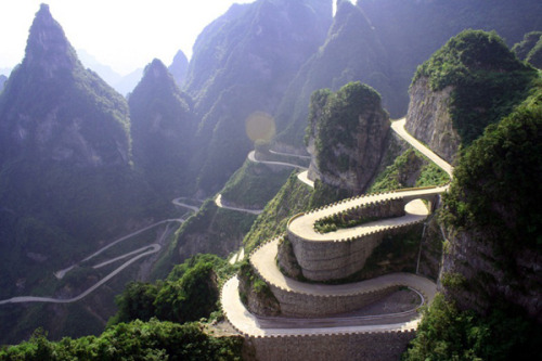 The Most Dangerous Road in China