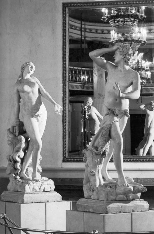 Antonio Canova, Orpheus and Eurydice (1775-76). Stone. Museo Correr,