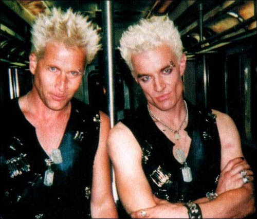 James Marsters and stunt double