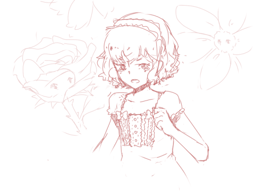 And then Shindou would be a cute Alice