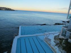 pools alongside the beach, how beautiful