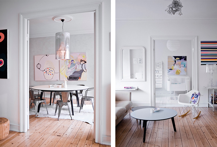 homeandinteriors:   The home of jewelry designer Stine A. Johansen