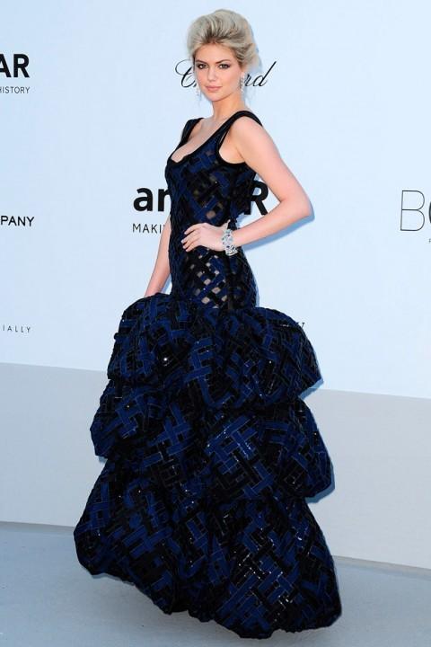fuckyeahvintagediary:  Kate Upton in Louis Vuitton at Cannes Film Festival 2012