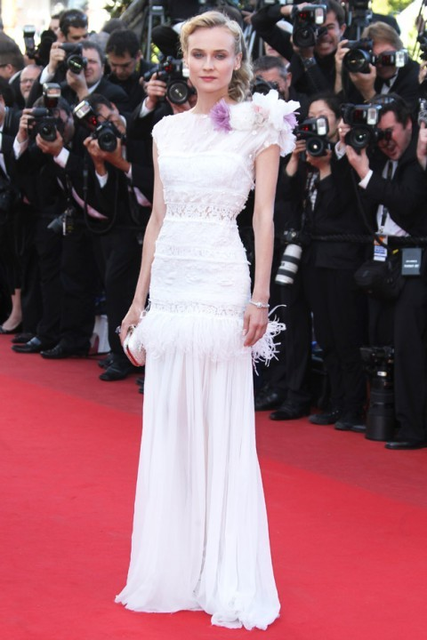 fuckyeahvintagediary:  Diane Kruger in Chanel at Cannes Film Festival 2012