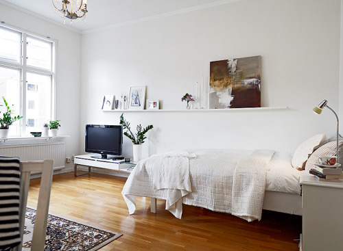 homeandinteriors:   Cute and cozy apartment for sale in Sweden here