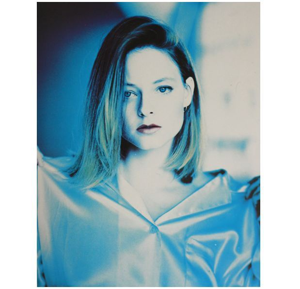 Jodie Foster by Matthew Rolston My scan does not this amazing portrait justice, yet I really wanted to share it with you!