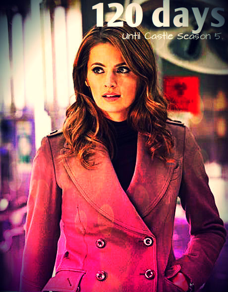 Hola!!!:D 120 days until Castle Season 5!!<3 Getting closer!!!:):) x