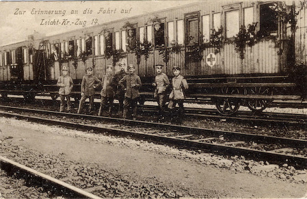 history-is-not-was:  German ambulance train