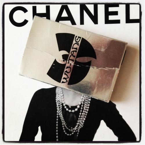 Chanel wu-tang art collab