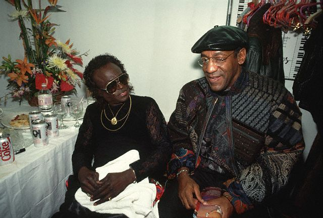 Miles Davis and Bill Cosby Photo Credit - Lynn Goldsmith