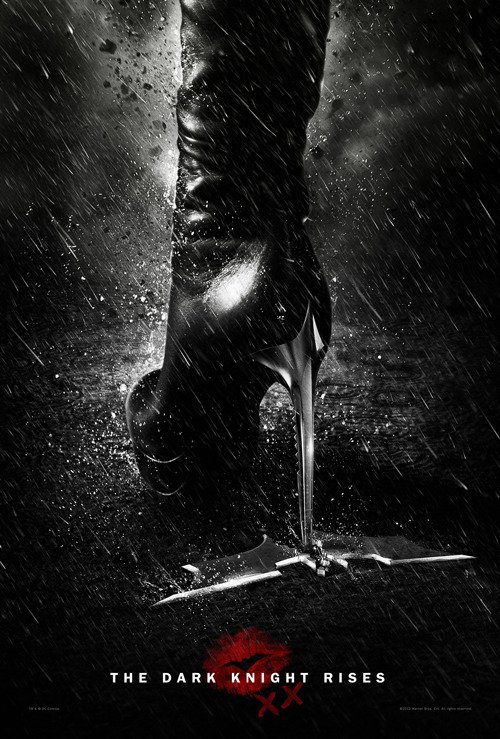 totalfilm:  New secret Catwoman poster revealed for The Dark Knight Rises The Dark Knight Rises has been showering us with poster-y goodness over the last few days, with some moody character posters and epic widescreen banners, and it seems like we haven't seen the last of them yet…