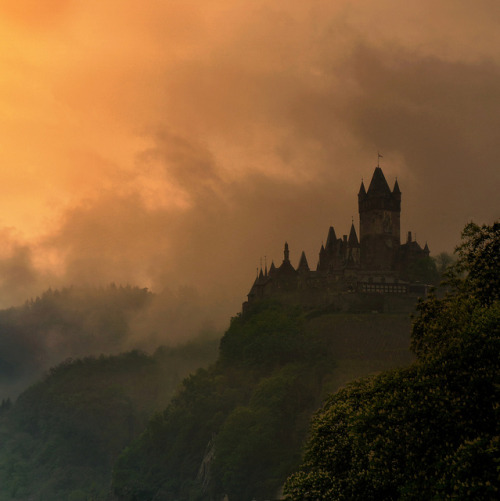 The Epic of Reichsburg in Cochem by B℮n on Flickr.