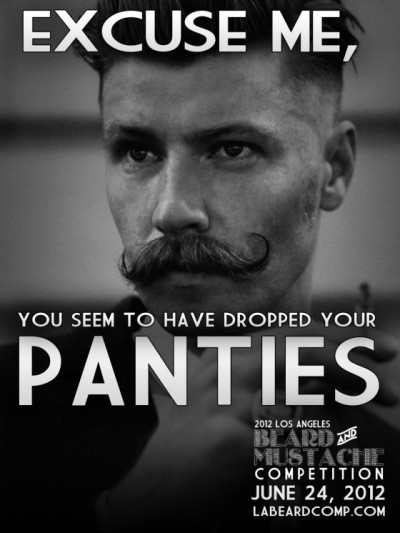 redbeardedoctopus:  (via 2012 Los Angeles Beard & Mustache Competition June 24th)   Ha!