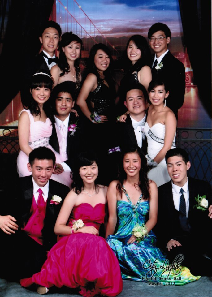 our group photo from senior ball came :D