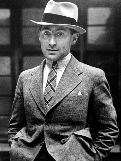 This dapper individual is Alfred Eisenstaedt, German-American photojournalist best known for his work for LIFE Magazine from 1936-1972. One of his most famous photos is the legendary kiss V-J Day in Times Square, but I think we'd all say he's quite agreeable on both sides of the camera.