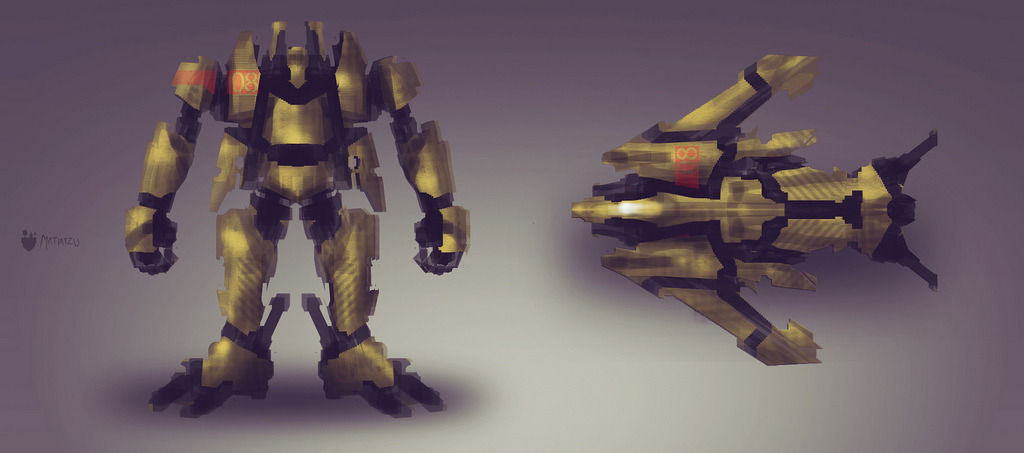 concept art -  MECH-AT