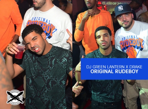 DJ GREEN LANTERN x DRAKE - Original Rudeboy Sweater