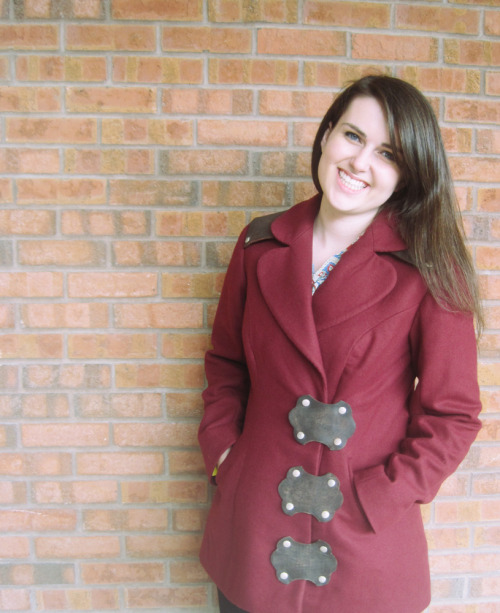 I designed and made a coat! Blog post with more photos here.
