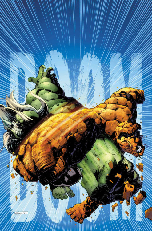 It's The Hulk Vs The Thing! // artwork by Ryan Stegman (2012)