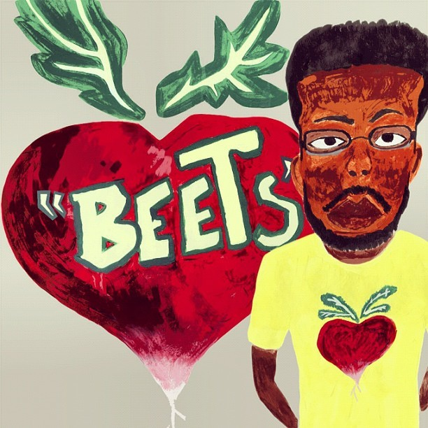 "Official artwork/Front cover ""Beets"" a 20 track instrumental tape.. Droppin June 26th #asiaticrhythms I'm a be playin exclusive tracks at #Soundclash 2nite.. Stay tuned peace.        (Taken with instagram)"