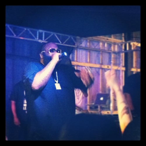 Definitely the biggest boss that I've seen thus far. #rozay (Taken with Instagram at Boulevard Nights)