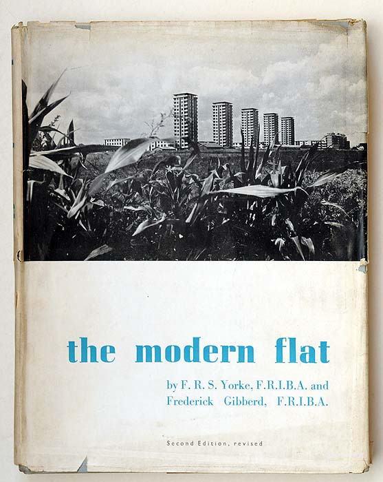 howweimagined:  the modern flat, F.R.S. Yorke & Frederick Gibberd (by alexisorloff)