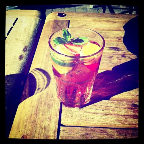 Pimms action (Taken with instagram)