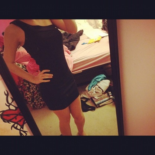 New dress for the wedding I'm going to in twoish weeks!:D  (Taken with instagram)