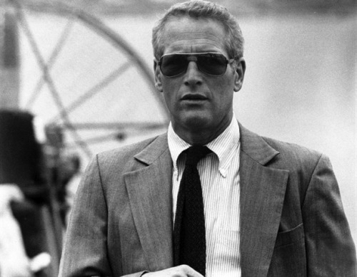 acutestyle: Collar. voxsart:  Paul Newman and the Patterned Polo Collar 1. Candy stripes in the Drowning Pool, 1975.