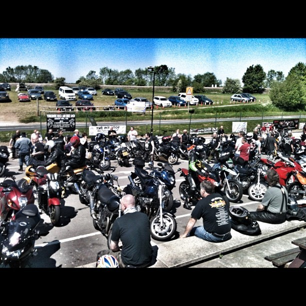 Just a few bikes 😃 #biker #mag #squires #instamotogallery  (Taken with instagram)