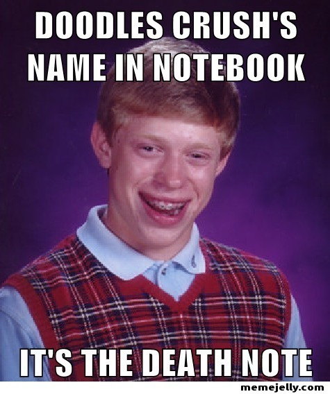 memejelly:  Bad Luck Brian Hurts Everyone He Cares About