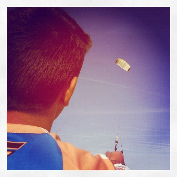Surfing the kite! (Taken with instagram)