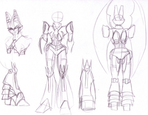 Fiddling with Blitzangel's TFP design some more for fun. I'm really happy with this one. Can't wait to color it.