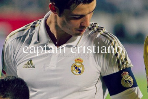 Real Madrid Things — #105 Captain Cristiano; submitted by sergioscolouredpants.