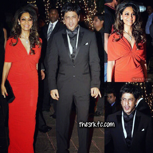 May 25th:  Shah Rukh and Gauri at KJo's 40th B'day Bash - 20 photos (so far)